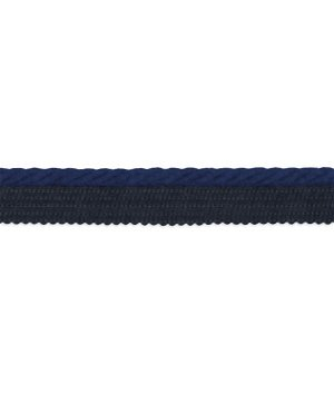 "Sunbrella Lip Cord Marine Navy - 1/4"""