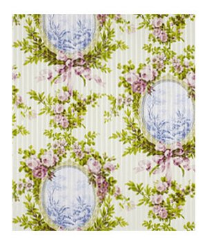 Beacon Hill Rosemoor Pink Citrus Fabric