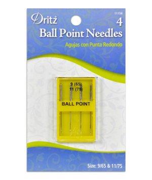 Dritz Ball Point Machine Needles - Size 9/11