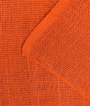 "Orange Square Jute Tablecloth - 60"" x 60"""