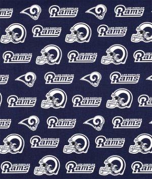 Los Angeles Rams NFL Cotton Fabric