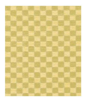 Beacon Hill Shiny Checkers Golden Peridot Fabric
