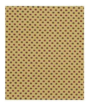Robert Allen Dots Boucle Gold Currant Fabric