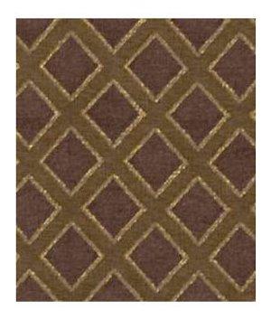 Beacon Hill Lattice Sheen Earth Fabric