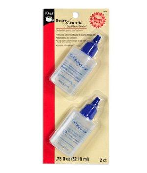 Dritz Fray Check Liquid Seam Sealant 2 Pack