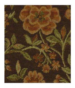 Robert Allen Contract Fleurs Aplenty Chestnut Fabric
