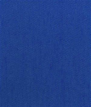 Royal Blue Bull Denim Fabric