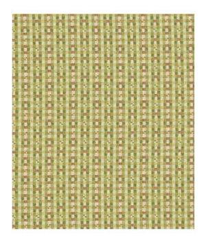 Robert Allen Pastel Check Leaf Fabric
