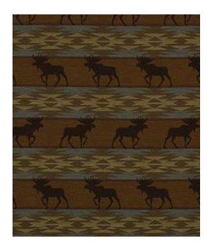 Robert Allen Moose On Loose Lake Fabric