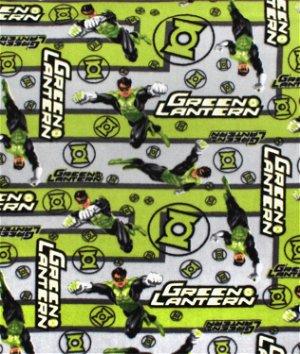 DC Comics Green Lantern Maze Fleece Fabric