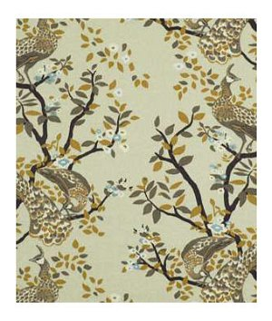 Robert Allen Vintage Plumes Birch Fabric