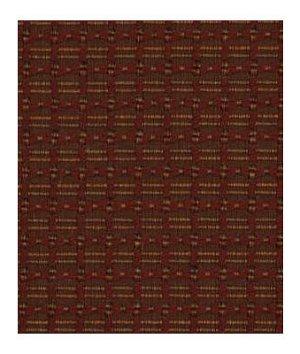 Robert Allen Braided Rows Poppy Fabric