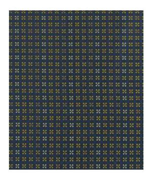 Robert Allen Contract Jumping Jacks Indigo Fabric