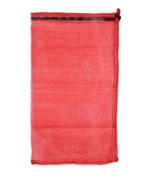 18.9 x 31.9 Mesh Polypropylene Bags - Red