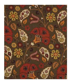 Robert Allen Kelly Mahogany Fabric
