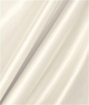 Ivory Stretch Satin Fabric
