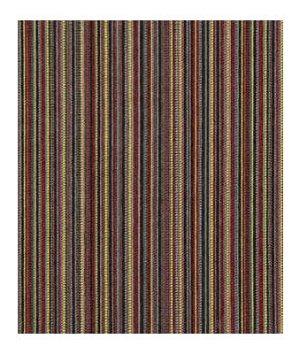 Robert Allen Mellow Stripe Magenta Fabric