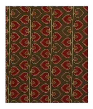 Robert Allen Contract Scando Vine Scarlet Fabric