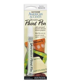 Rust-Oleum American Accents Decorative Paint Pen Satin White