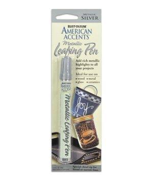 Rust-Oleum American Accents Metallic Leafing Pen Silver