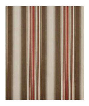 Beacon Hill Helena Stripe Clay Linen Fabric
