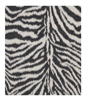 Beacon Hill Linen Zebra Black And White Fabric