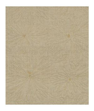 Robert Allen Line Flower Honey Fabric