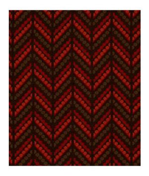 Robert Allen Dotted Zigs Red Hot Fabric