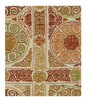 Robert Allen Rio Swirl Saffron Fabric