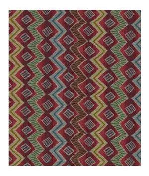 Robert Allen Zig Zag Box Berry Crush Fabric