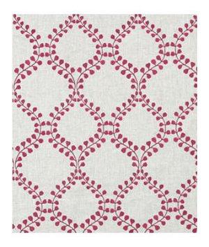 Robert Allen Winding Leaves Raspberry Fabric
