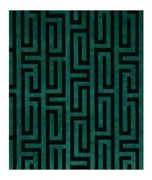 Robert Allen Velvet Maze Aquamarine Fabric