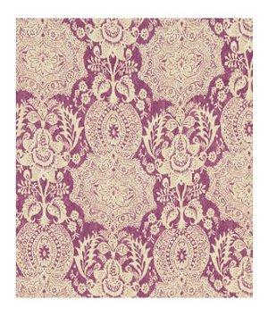 Robert Allen Market Square Aubergine Fabric