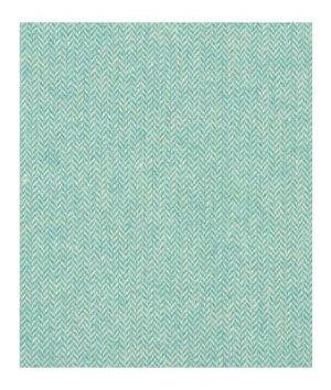 Robert Allen Wool Chevron Turquoise Fabric