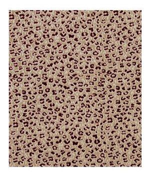 Robert Allen Soft Cheetah Classic Crimson Fabric