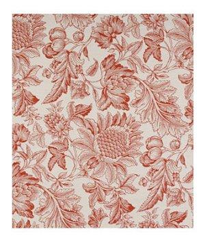 Robert Allen Mammys Garden Lacquer Red Fabric