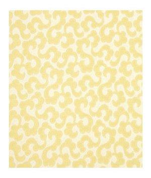 Robert Allen Tranquil Flower Gold Leaf Fabric