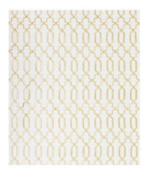 Robert Allen Kyle James Gold Leaf Fabric
