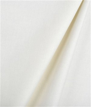 Hanes Ivory Napped Sateen Drapery Lining Fabric