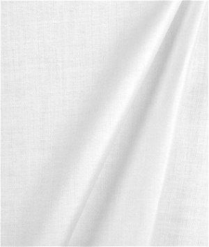 Hanes White Satinsheen Drapery Lining Fabric