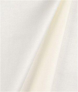 Hanes Classic Ivory Sateen Drapery Lining Fabric