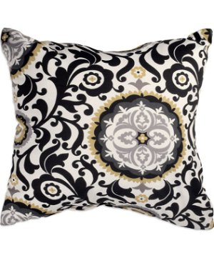 """16"""" x 16"""" Celest Black Premium Decorative Pillow"""