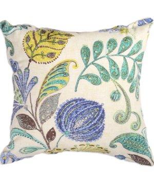 "16"" x 16"" Harmonious Blue Premium Decorative Pillow"