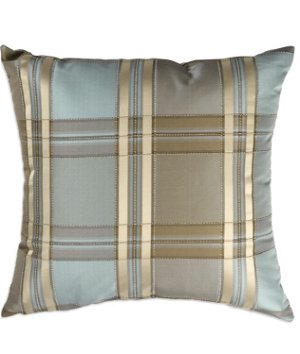 "16"" x 16"" Robyn Stripe Ivory Premium Decorative Pillow"