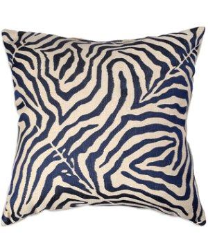 "16"" x 16"" Safari Glow Blue Premium Decorative Pillow"