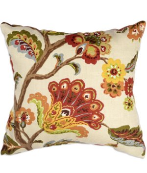 "16"" x 16"" Bretta Paprika Premium Decorative Pillow"