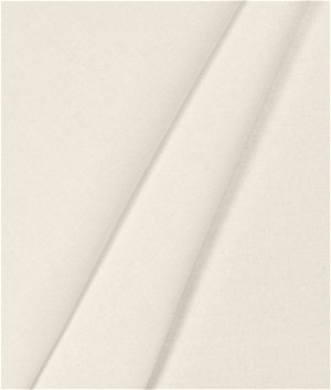 Hanes Ivory Signature Sateen Drapery Lining Fabric