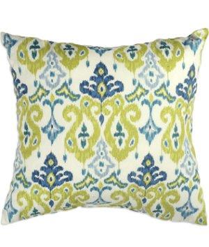 "16"" x 16"" Tied Together Kiwi Premium Decorative Pillow"