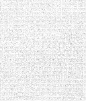 White Waffle Cloth Fabric