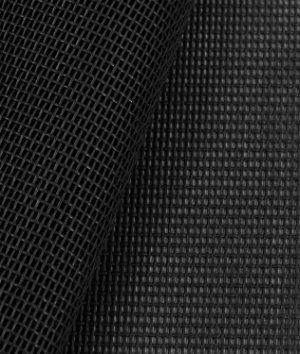 Phifertex Standard Solids - Black Fabric